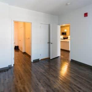 bedroom interior of apartment in wilmington de
