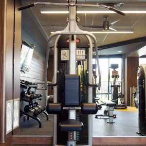 exercise equipment in gym at apartment in wilmington de