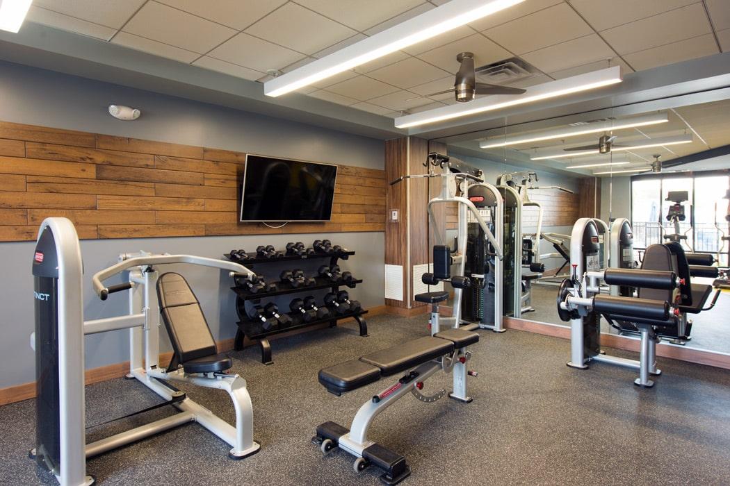 community gym in apartment in wilmington de