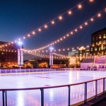 Riverfront rink near The Residences at Harlan Flats