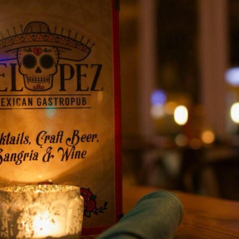 Big Oyster Beer Dinner at Del Pez near apartment in wilmington de