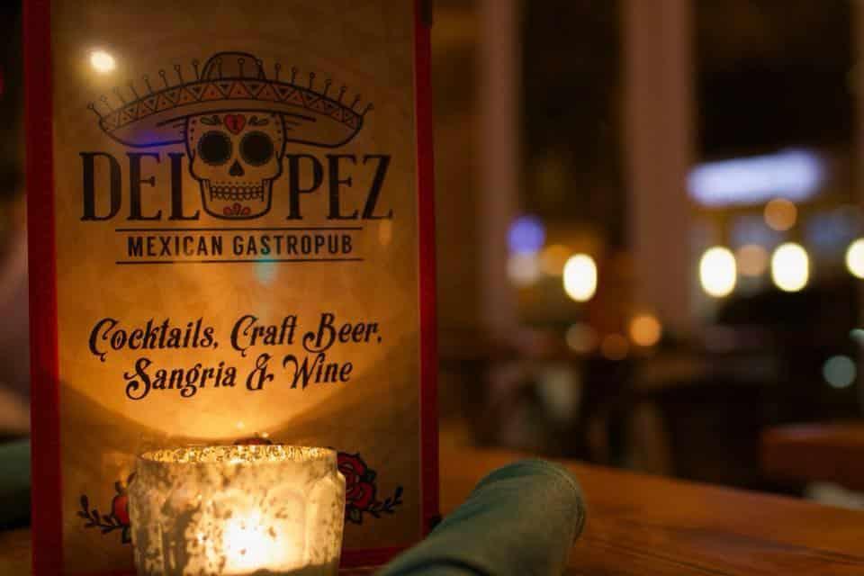 Big Oyster Beer Dinner at Del Pez near apartment in wilmington de
