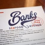 Banks Seafood Menu