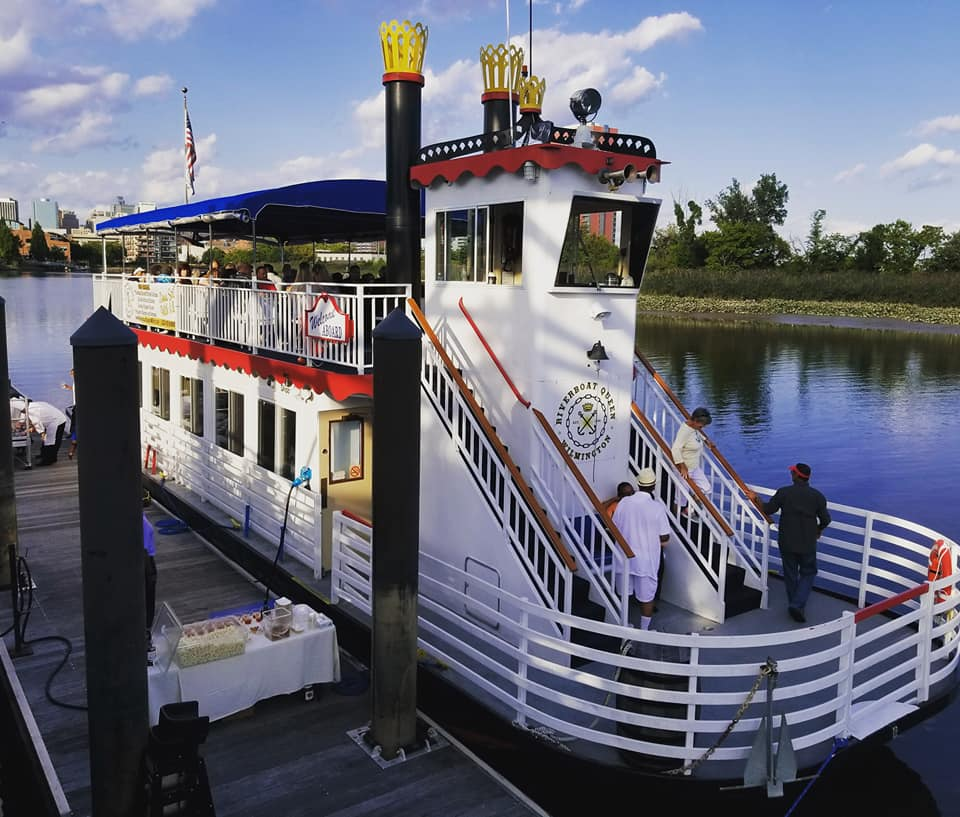 Have Father's Day Brunch on the Riverboat Queen on the Wilmington Riverfront June 16th